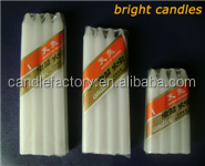 Religious Activities Use white plain candle