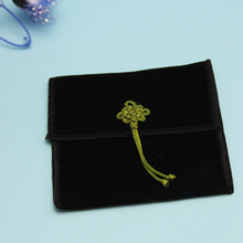 Flap Velvet Jewelry Pouch