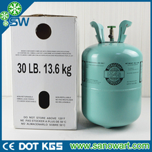 basic organic chemicals mixed eco-friendly refrigerant gas r134a