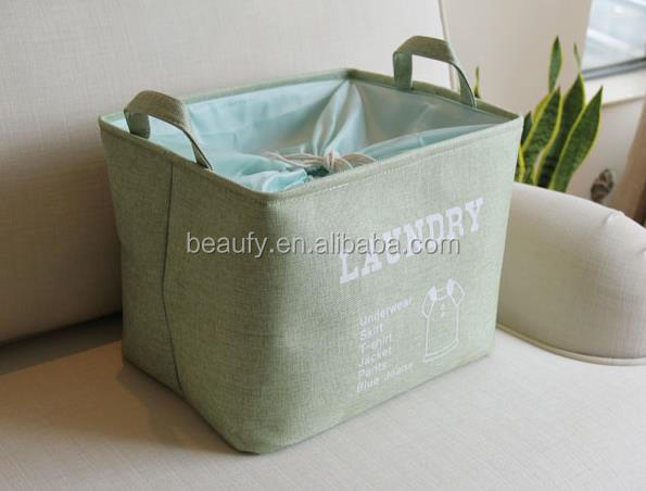 storage basket cotton canvas bins