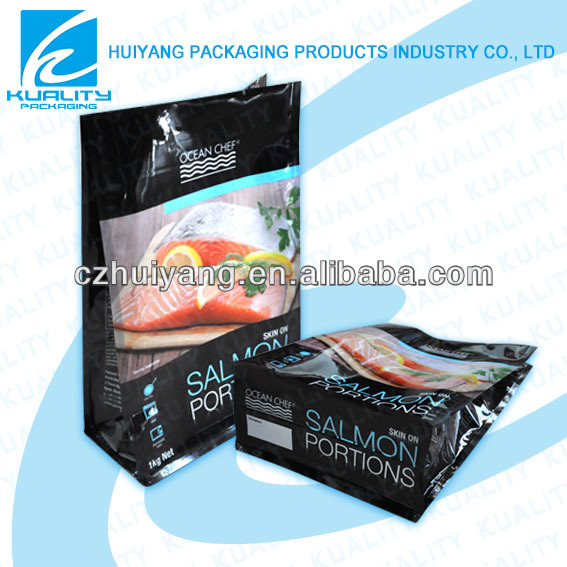 Top quality side gusset vacuum bag for tofu packaging
