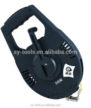 Zhejiang manufacture measuring tools measure tape black for construction