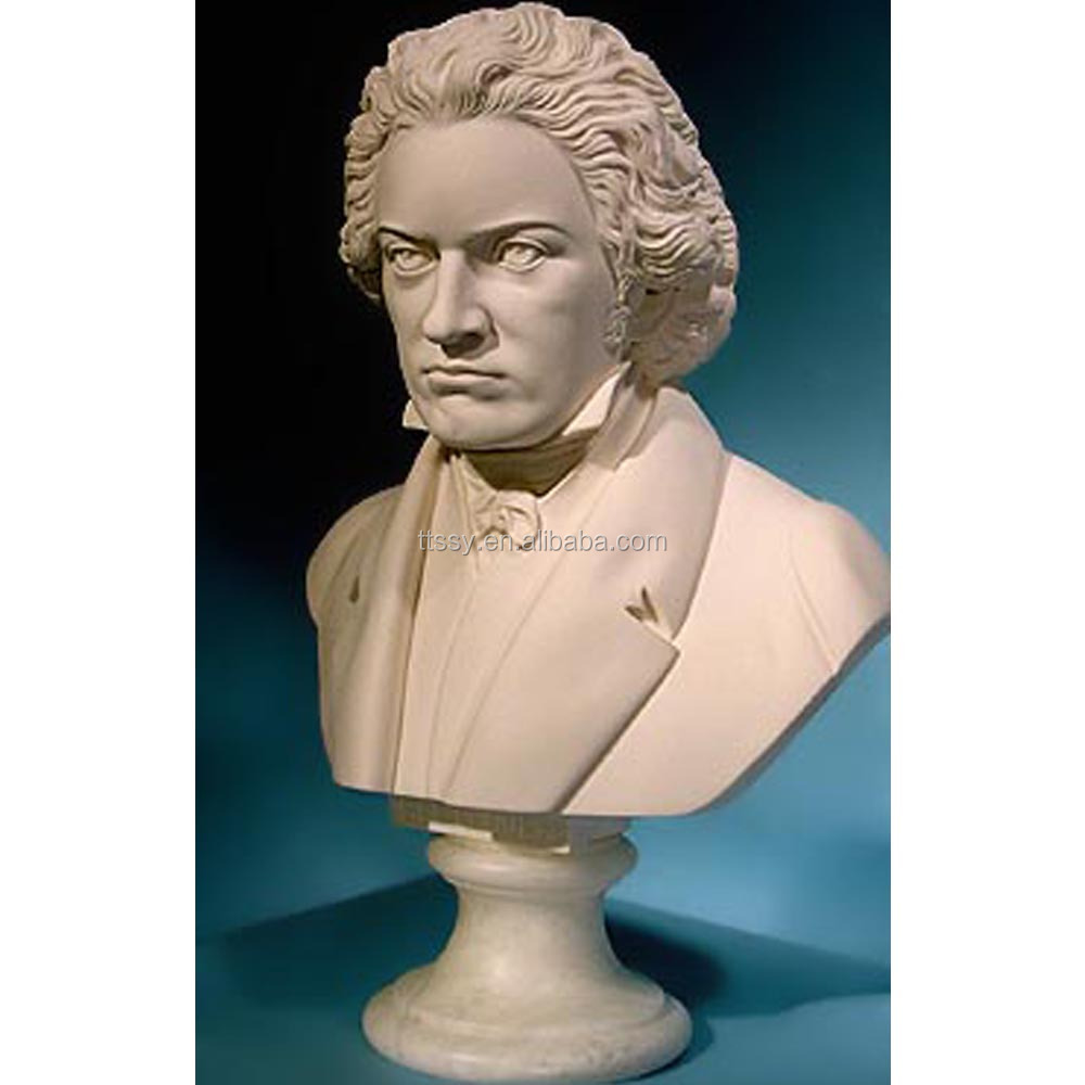 Marble Stone Beethoven Bust Sculpture