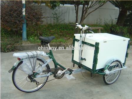 Coffee cargo bike v brake ice cream cargo bicycle for sale tricycle cargo bike/cargobike/cargo tricycle bikes UB9005B