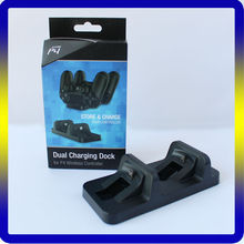 For PS4 Accessories Dual Dock Charging Station for Playstation 4 Controller