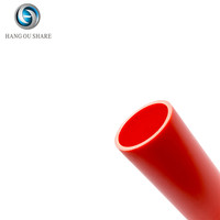 Electrical pipe rigid orange underground 8 inch prices pvc tube fittings