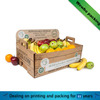 Corrugated Fruit Packaging box for Pear/Apple/Orange/banana with Custom Logo