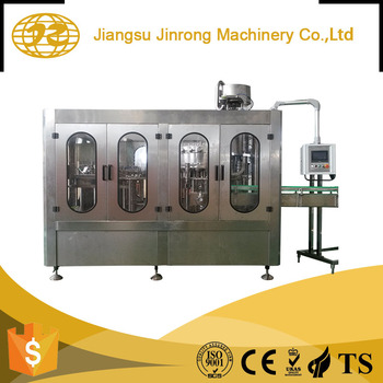 Hot sale good quality monoblock liquid used milk filling machine