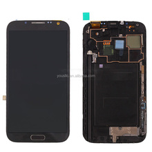 Replacement Original Mobile Phone Parts Full LCD Complete LCD Touch Screen Digitizer Assembly For Samsung Galaxy Note 2 N7100