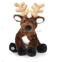 Popular CE EN71 reindeer stuffed animal toys stuffed reindeer