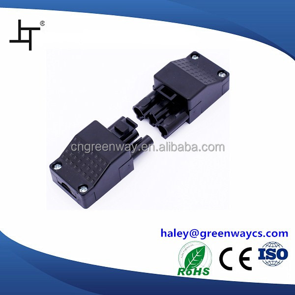 pluggable terminal block quick connect plastic male female wire connector