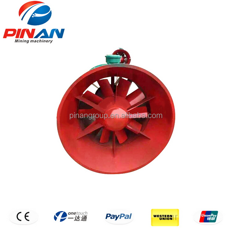 Unique style latest small electric mining main fan