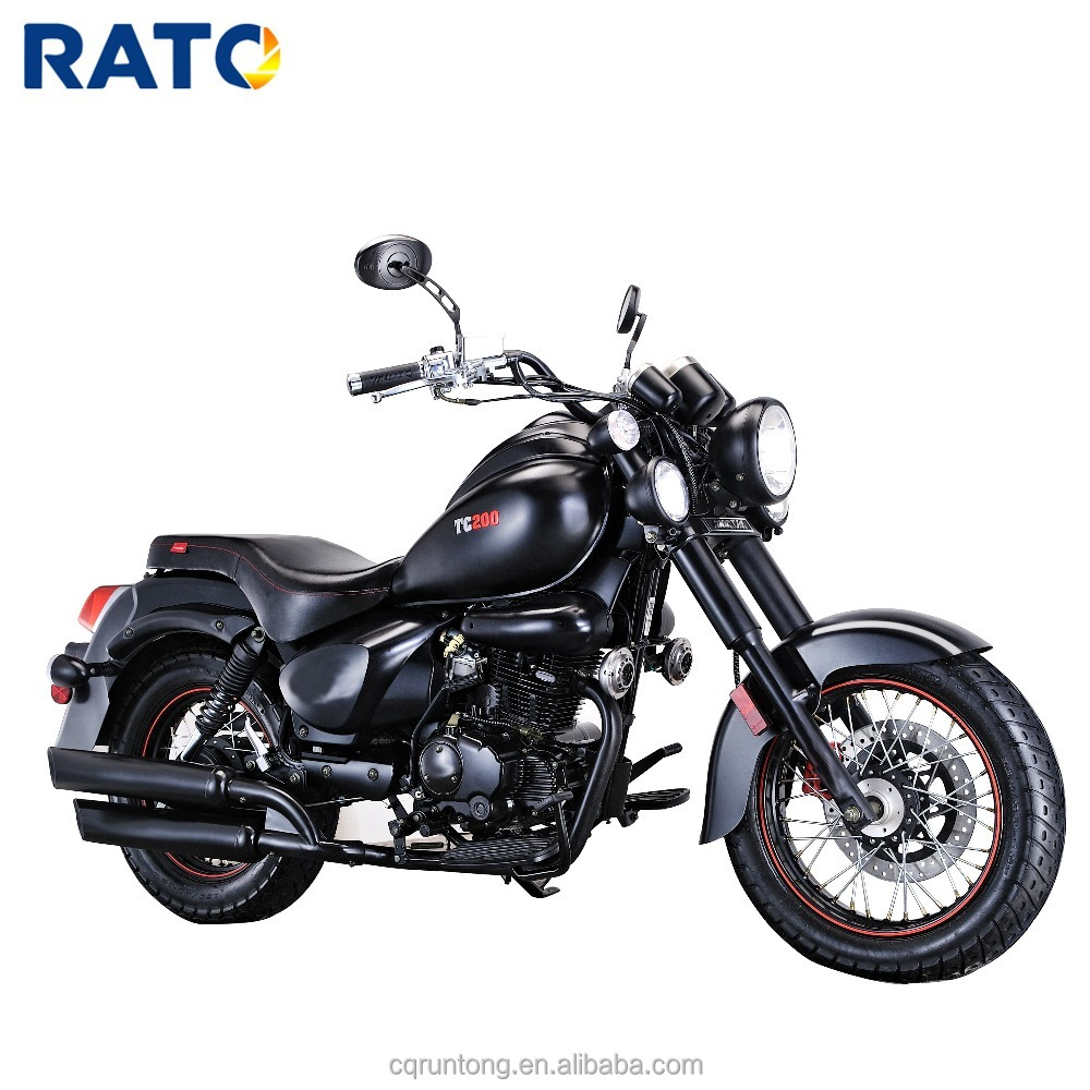 RATO made 200cc 250cc cheap china chopper motorcycle retro