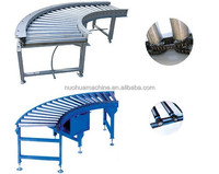 Chain driven Curved Roller Conveyor/electric curved roller conveyor