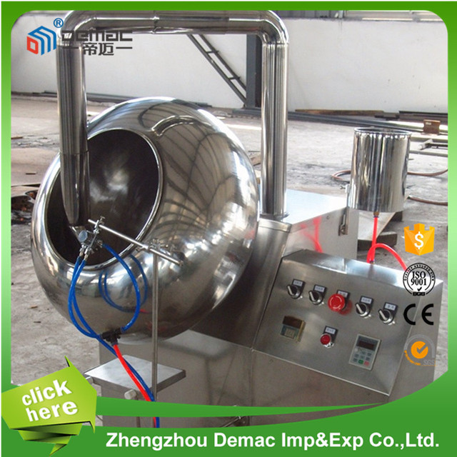 Indusrial price sugar coating machine/chewing gums coating machine/chewing gums coating machine for sale