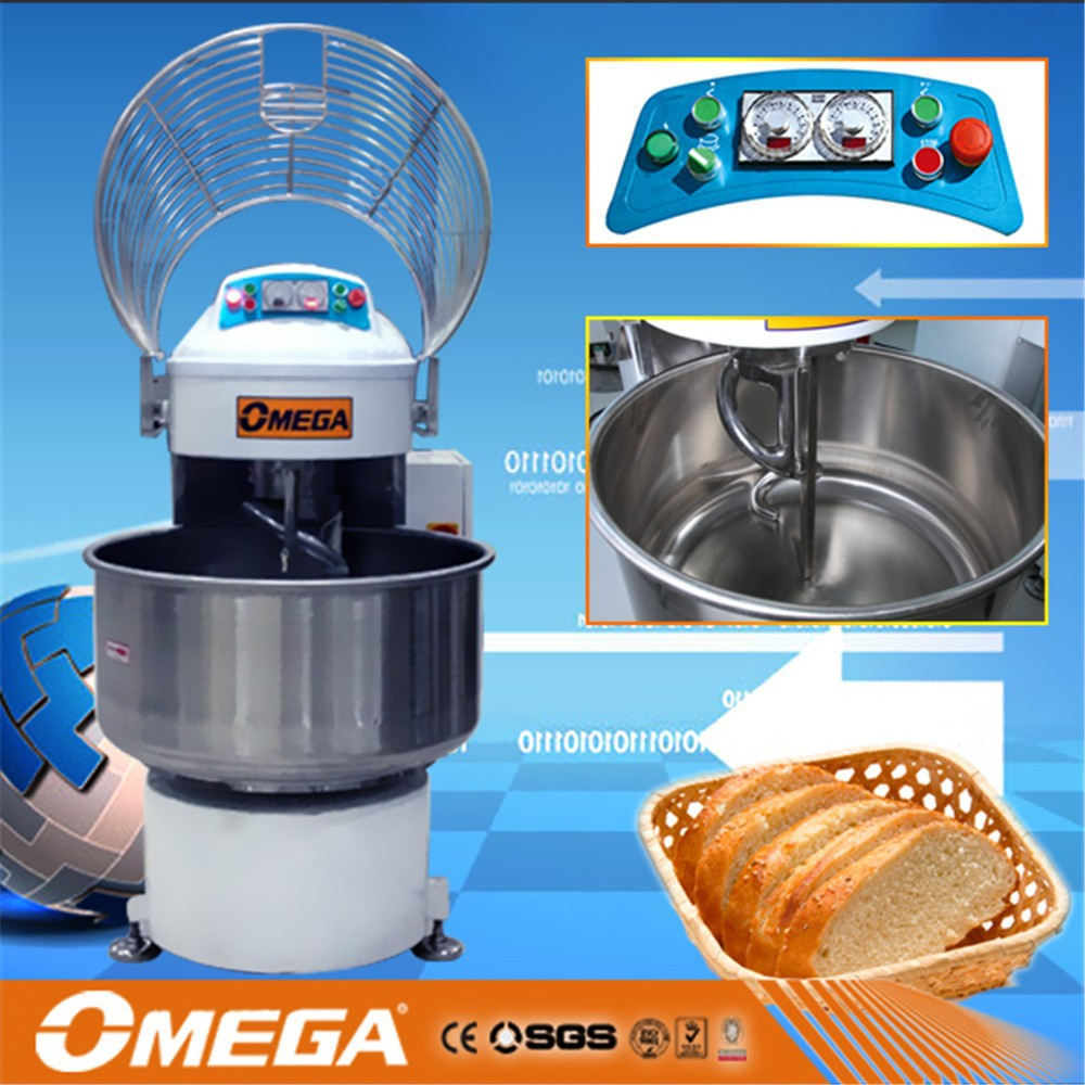 Factory direct sale electric double speed dough kneader, bread making machine, trade assurance, CE & ISO9001