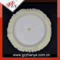 Natual lamp skin wool buffing pad in polishing pad