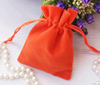 New Design Custom Popular Mini Eco Drawstring Velvet Gift Bag