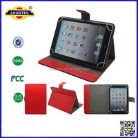 Luxury Universal Leather Pouch Cover Stand Folding Case for All 8.0 Inch Tablets Laudtec