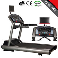 0-15% Incline range motorized commercial gym equipment