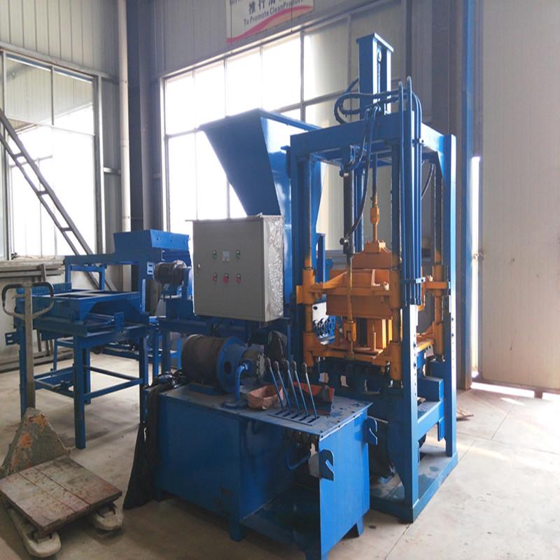 auto hydraulic block making machine to make concrete block interlocking brick machine in kenya