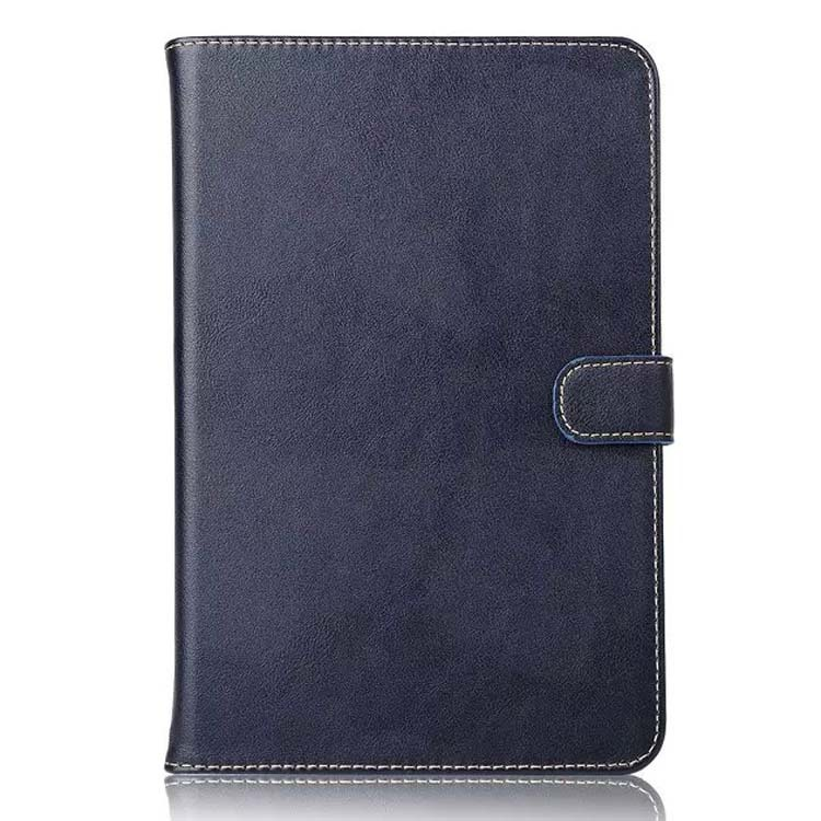 High quality leather flip case with card slot for Apple ipad mini 4 wallet stand case cover