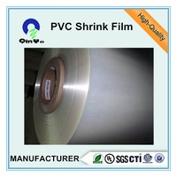 clear color shrinking pvc film