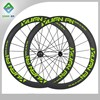 carbon cyclocross wheels 50mm chinese bicycle clincher road racing wheels bmx wheel 10% off discount