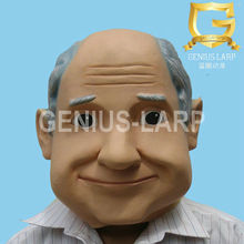 Old Man Face Latex Cartoon face masks