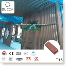 Chinese cedar wood lumber, hollow wood plastic composite timber tube, interior, exterior wall covering panel 50*25 alibaba com