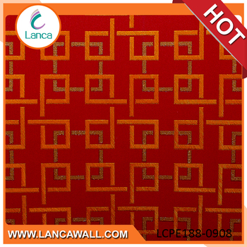 3D wall covering crystal china roll board 3d wallpaper