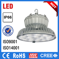 high quality long lifetime waterproof dustproof IP66 led hi bay lighting for industrial use