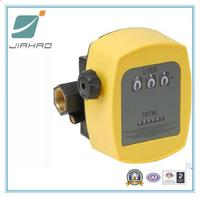 3-Digit Mechanical Fuel Flow Meter, Gas Meter/Aluminum Oval Gear Meter With Electronic Register
