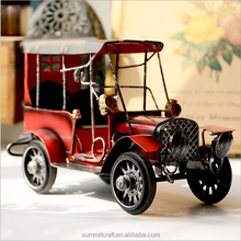 Metal handmade model car vintage car model