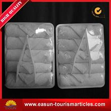 Low price refreshing towels disposable airline hot towels cotton bath towels