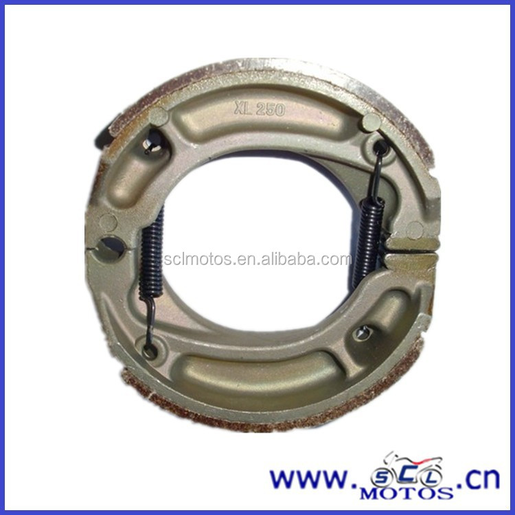 SCL-2012031021 chinese moto parts brake shoe for motorcycle