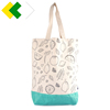 Cotton Craft- Extra Large 100% heat transfer printing vintage organic cotton canvas tote rope handle carrier, Heavy Duty bag