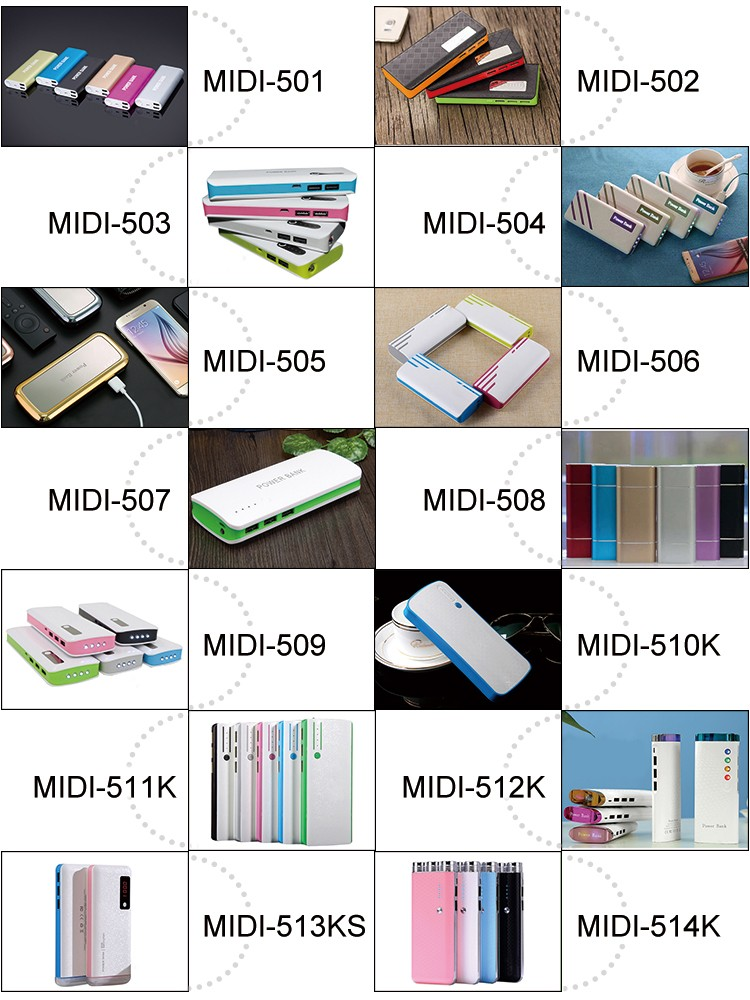 Get free samples 2 usb 20000mah power bank for Christmas gifts