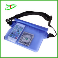 2015 hot sale promotion outdoors waist waterproof pouch for Electronic Devices, Cash and documents