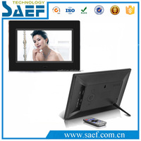 Acylic lcd digital frame display 7 inch lcd advertising indoor application music/picture/video play