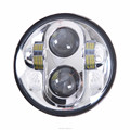 5.75 Inch 40 Watt Led Head light J-eep High/low beam Har-ley led Headlight