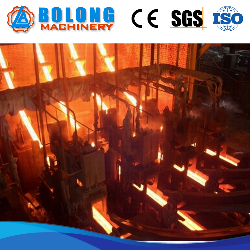 High Quality And High Production Continuous Casting Machine For Foundry Nickel Ingot