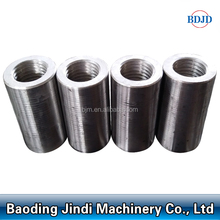 rebar connector 12-50mm parallel threading rebar couplers as construction material