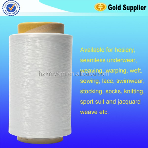 raw white multifilament PA6 yarn for webbing tapes