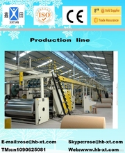 3/5 ply automatic assembly machine for corrugated board plant printing ink making corrugated cardboard packaging machines sale