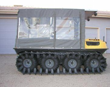 2000 Argo Conquest 8x8 Snow Machine Amphibious ATV