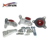 Excellent Material 02-06 RSX/ER3 Replacement Mount Kits(3pcs) Rear Engine Mount For Honda