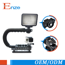 ET-DS01 Shape Gyro Stabilizer For Camera Stabilizer China Video Handle Mount Grip For Camcorder Camera gimbal stabilization