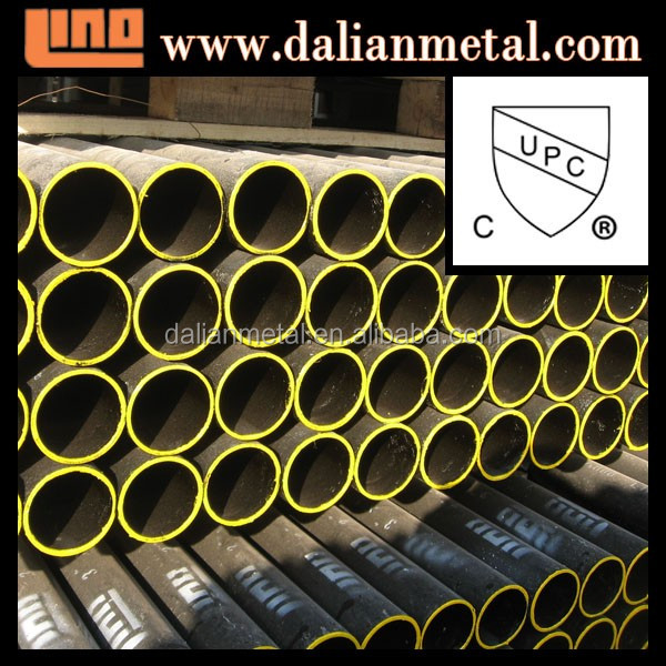 Over 15 years factory supply wonderful black cast iron pipe