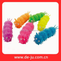 Lovely TPR Puffer Ball Jumbo Puffer Ball Caterpiller Soft Plastic Cartoon Toy
